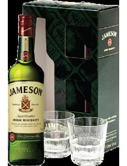 Джеймисън 0.7л + 2 чаши /...
