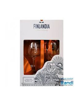 Финландия 0.7л + чаша 0.7л...