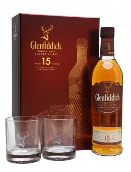 Гленфидих 15г 0.7л+2 чаши /...